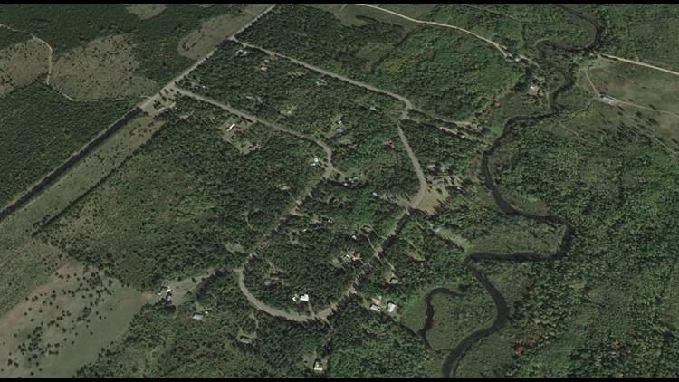 Google Earth Eau Claire Acres Circle