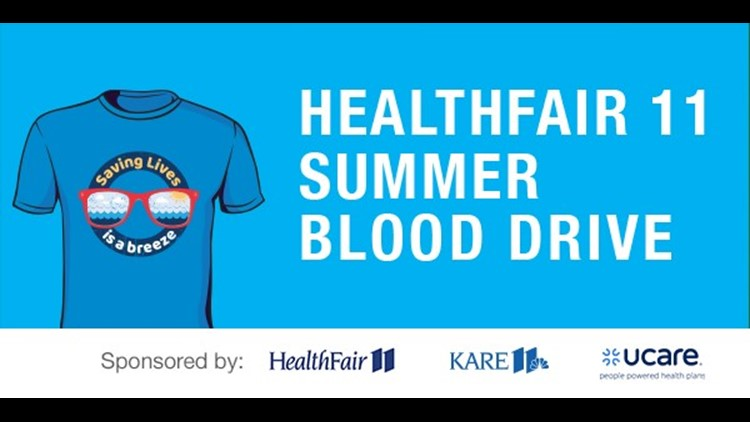 Blood donors show up for July 19th drive