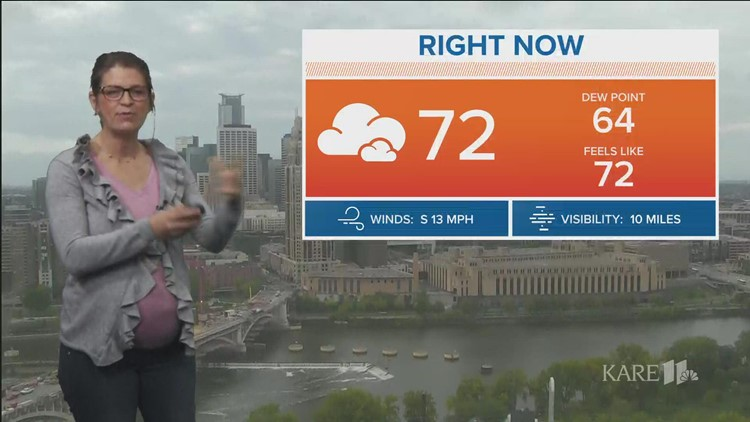 Late morning weather, Sept. 20, 2021