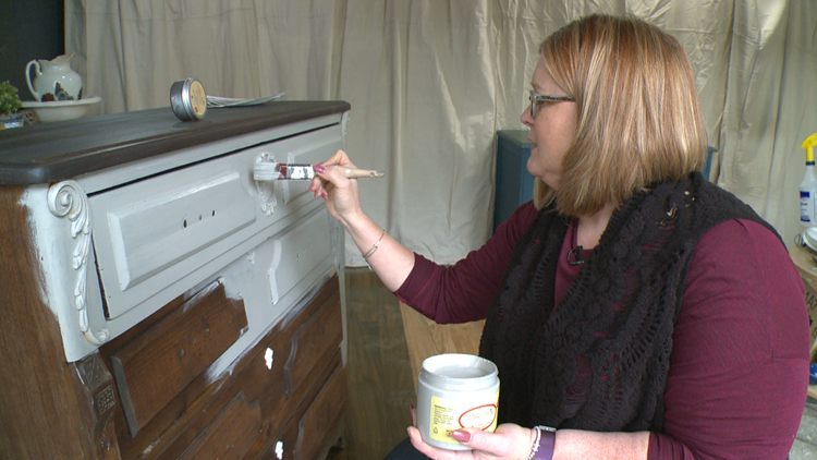 'Reclaiming beautiful': Maple Grove business transforms secondhand furniture
