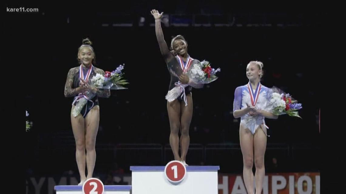 Minnesota teens reach the podium at U.S. Gymnastics Championships