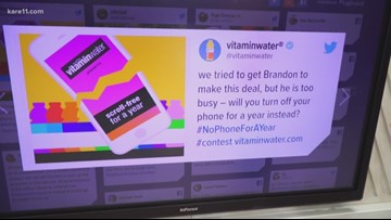 Digital Dive: Vitaminwater contest would pay $100K to give up your smartphone for a year
