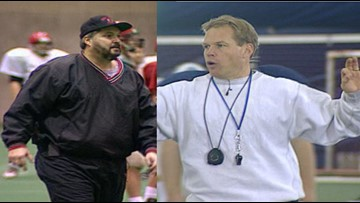 Thursday Prep Throwback: The Odd Couple, coaches Mike Grant and Dave Nelson