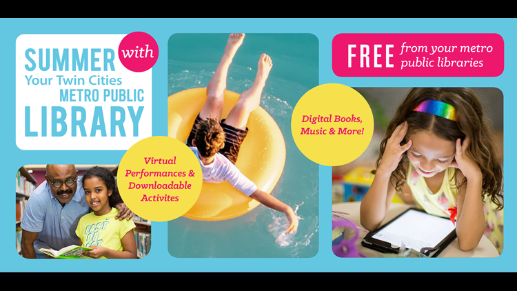 Join the 'Summer at Your Library' Program