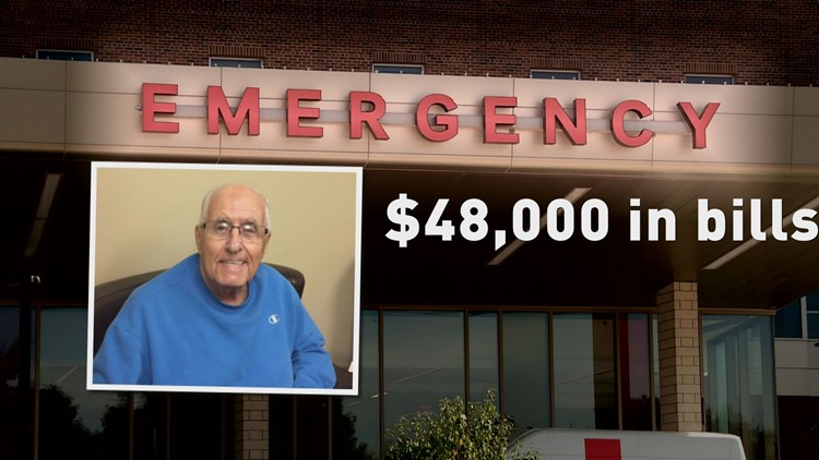 In 2010, when 77-year-old RichardStaabhad a heart attack and stroke, he was rushed to a nearby private hospital for open-heart surgery. Medicare covered a portion of his treatment, butStaabwas left with about $48,000 in out-of-pocket expenses.