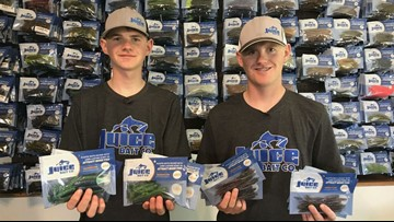Teenage brothers build bait business