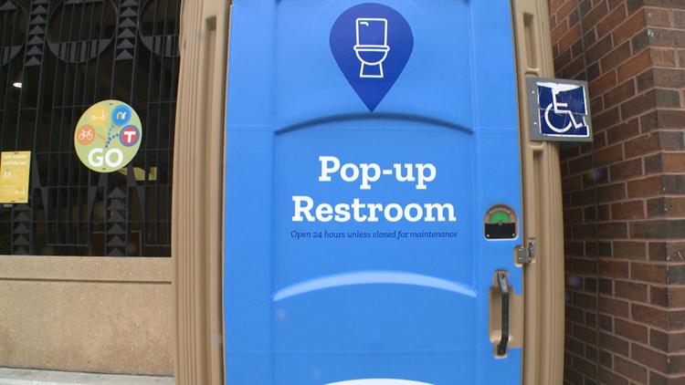 Pop-up Restroom