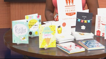 Locally made greeting cards help feed at-risk students