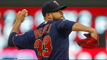 Perez pitches Twins past Astros 6-2 behind Schoop's big HR
