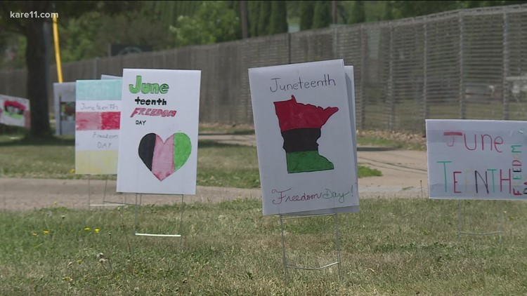 Students honor Juneteenth by bringing awareness to Roseville community