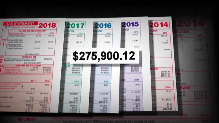 Woodbury Developers LLC property tax records