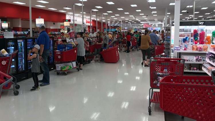 Long line to the target during a registry malfunction