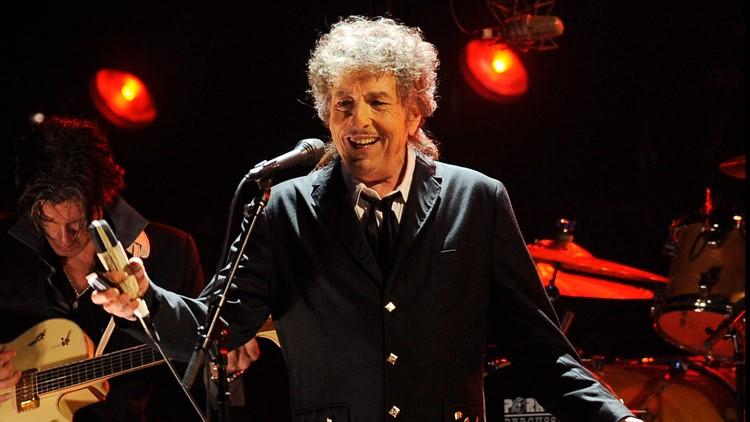 New art tribute to Bob Dylan on display outside Hibbing High School