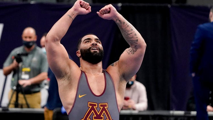 Gable Steveson: Going for the Olympic wrestling gold and beyond