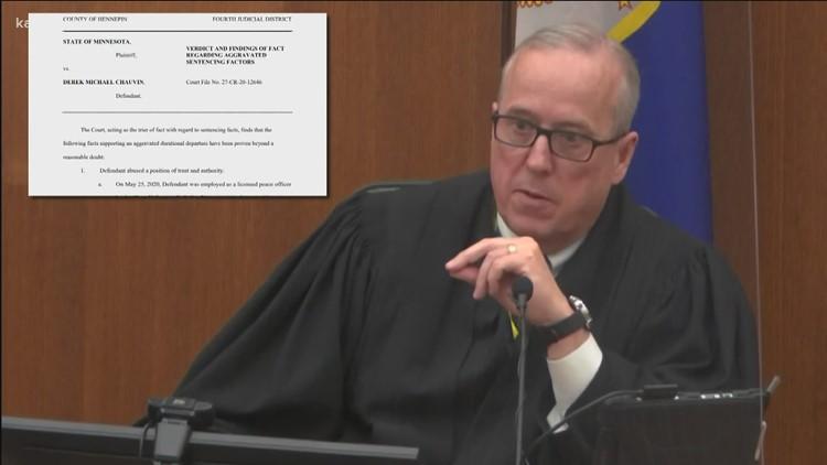 Ruling opens door for longer sentence in Chauvin case