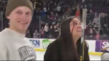 'Impossible' hockey shot wins student $30K