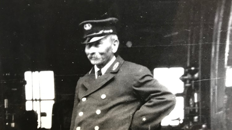 Pete Young, the first keeper of the Split Rock Lighthouse