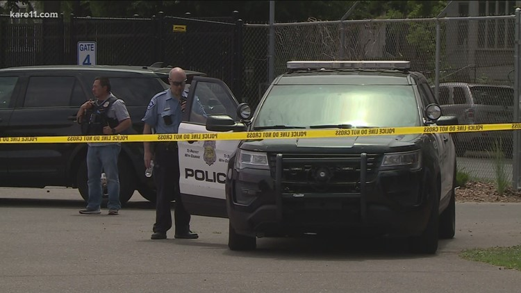One dead, multiple suspects in custody after violence erupts outside funeral in north Minneapolis