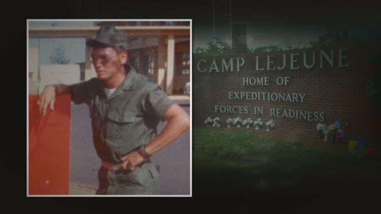 VA records show that Frank Sherman's renal disease was was likely caused by drinnking contaminated water during his service at Camp Lejeune. Credit: Frank Sherman.