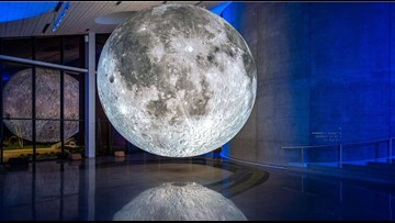 Bell Museum exhibit gets you close to the moon without a trip to space