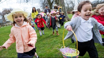 11 fun Easter egg hunts