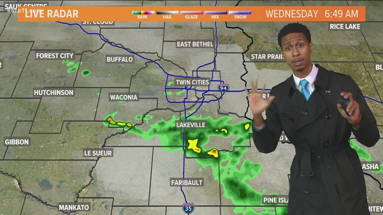 Late morning weather 10-20-2021