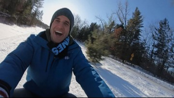 Explore the winter wonder of Cuyuna Country State Recreation Area
