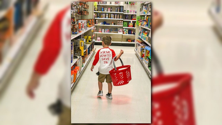 Cooper Rickman Target Birthday t-shirt shot
