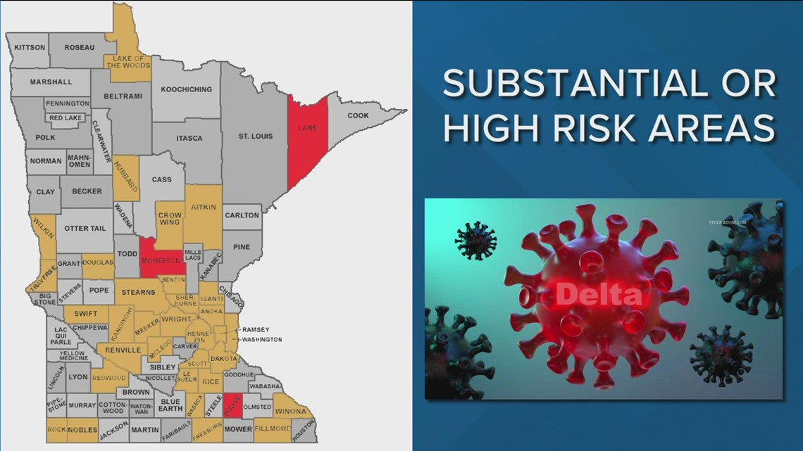 CDC recommendations: Minnesotans in 35 counties should mask up indoors