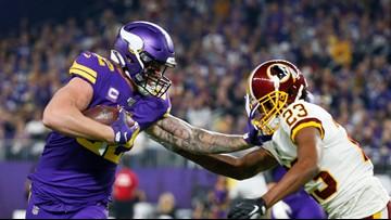Cook, Vikings wear down Washington 19-9 for 4th straight win