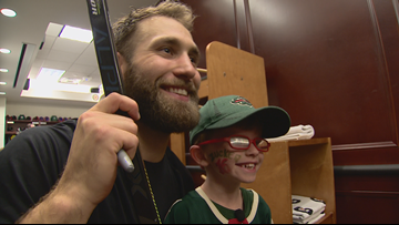 Young fan gets Wild surprise for his birthday