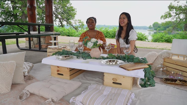 College roommates launch luxury pop-up picnic service in Twin Cities
