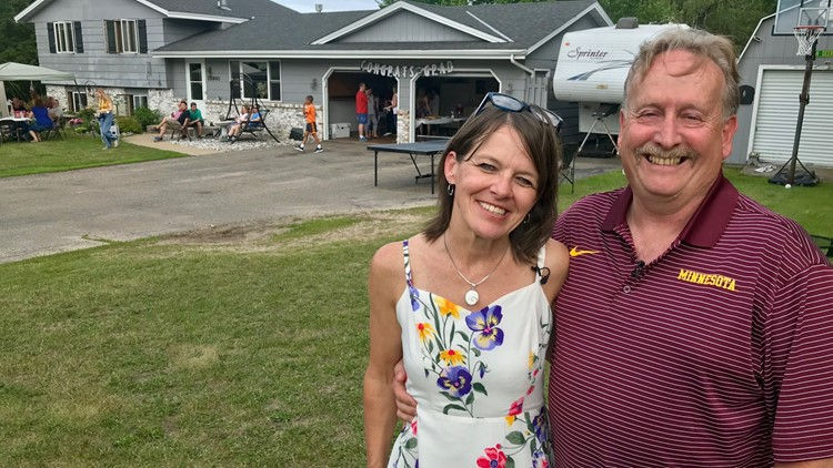 Brian and Judy Heichert have welcomed Jeff Nelson to all three of their daughters' graduation parties
