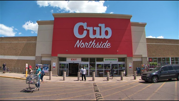 Looted and burned, Northside Cub returns with new grocery store model