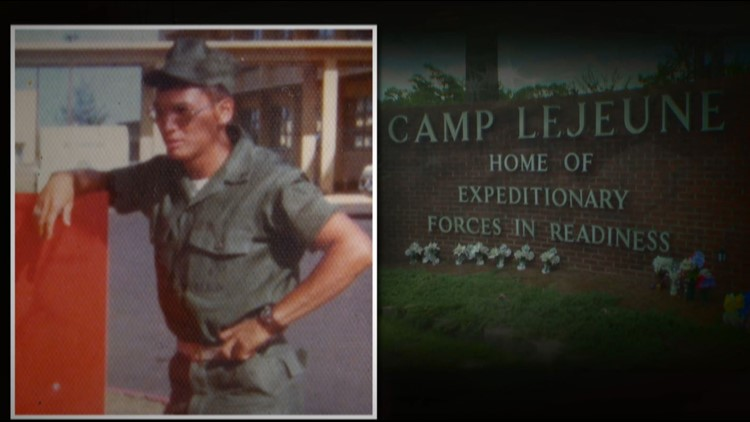 Frank Sherman's VA records show his renal disease was likely caused by drinking contaminated water during his service at Camp Lejeune.