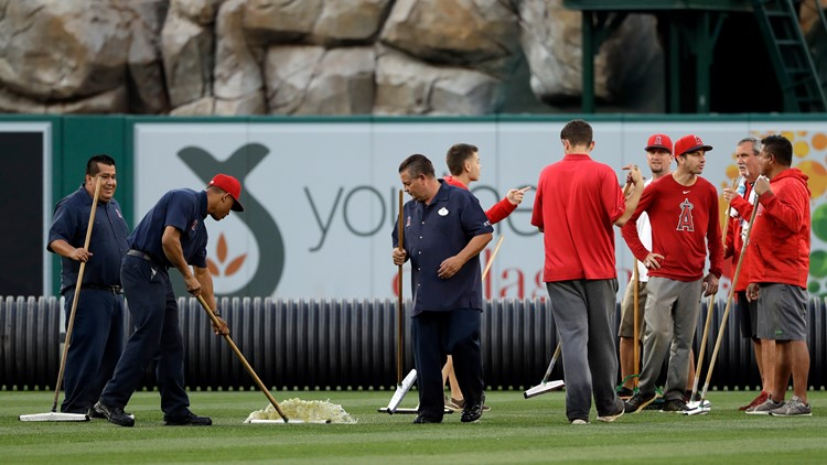 Twins game vs. Angels postponed on Wednesday