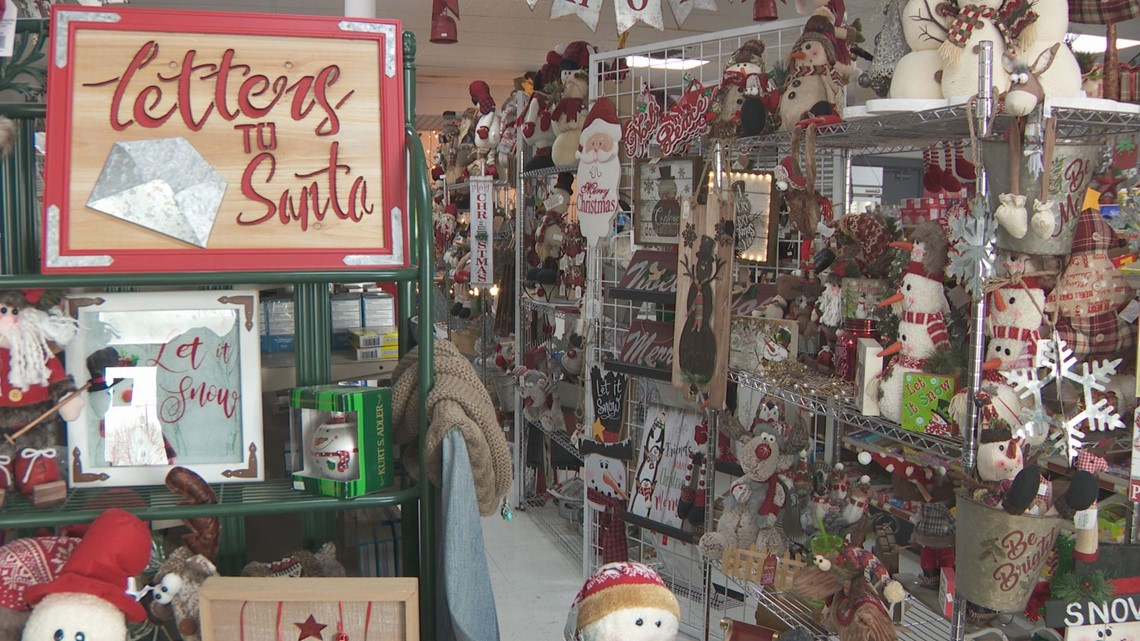Vermillion gas station is known for holiday pop-up shop