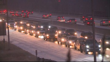 South metro snow snarls commute, raises misery index