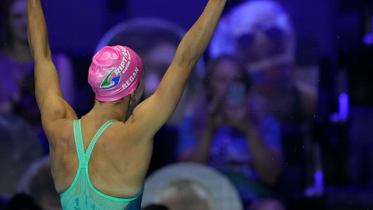 Regan Smith wins 100M backstroke at Olympic trials to earn a spot on Team USA in Tokyo