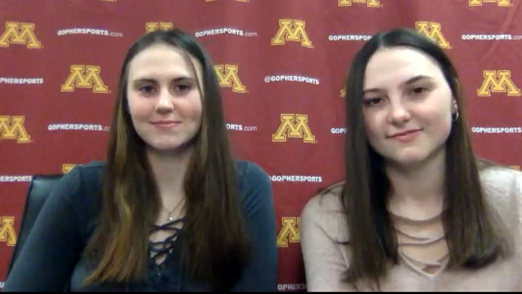 Gopher women's hockey sisters follow in their aunts' footsteps