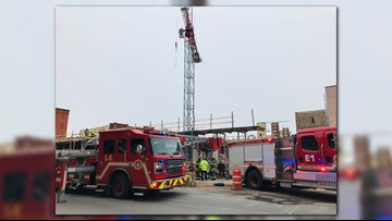 Worker rescued from construction trench