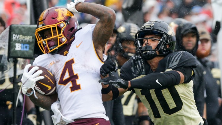 Gophers rally at Purdue to give Fleck 1st 2nd-half comeback