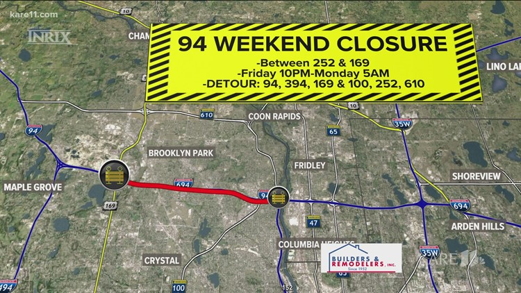 Major weekend closures to pose challenges for motorists