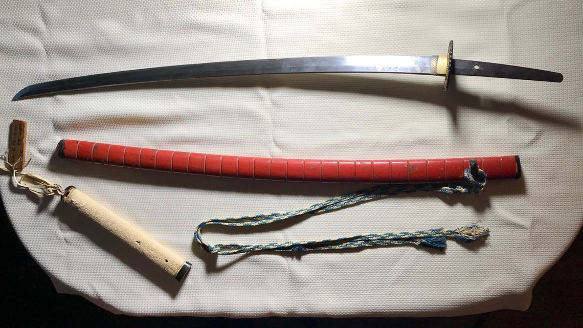 Centuries-old samurai sword spent decades in Minnesota basement