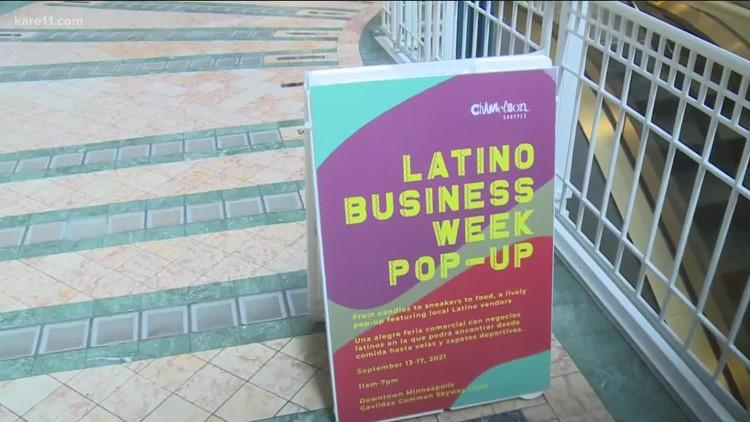 Minnesota's Latino businesses kick off Hispanic Heritage Month with pop-up shop