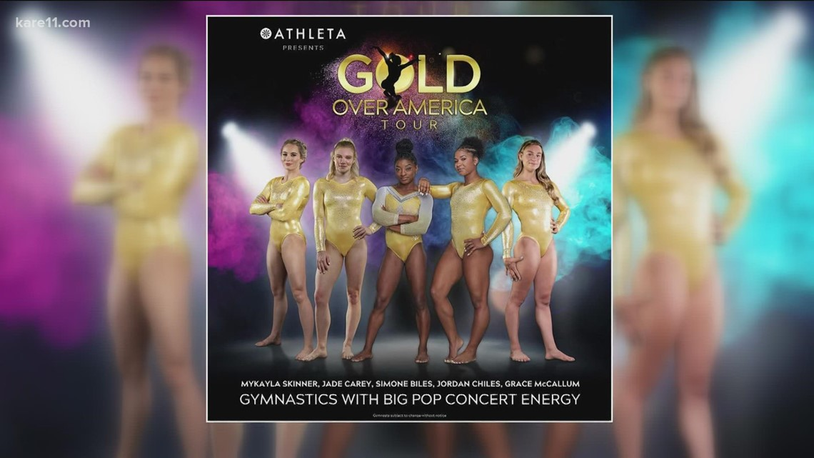 Grace McCallum talks the 'Gold Over America' tour with KARE 11 Sunrise