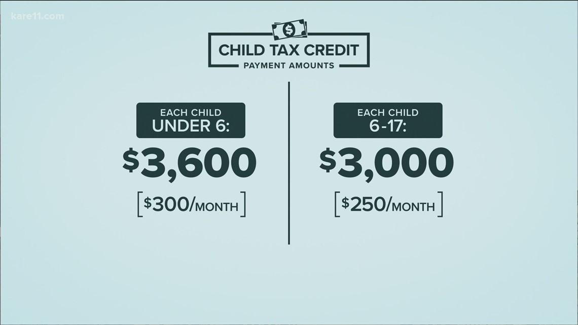 Child tax credits hitting bank accounts today