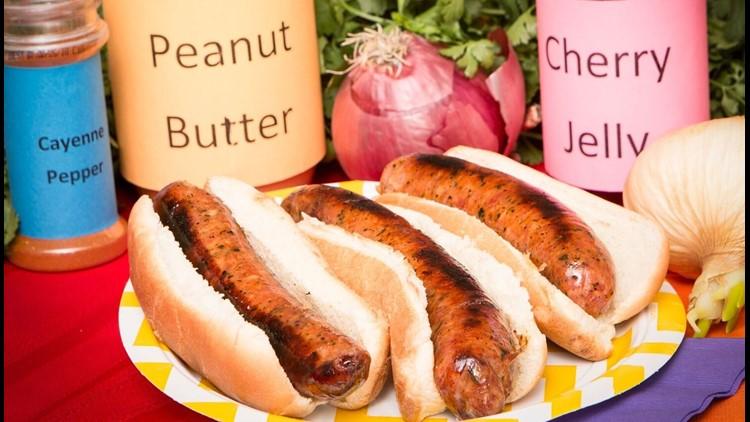 Zesty PB&J Sausage