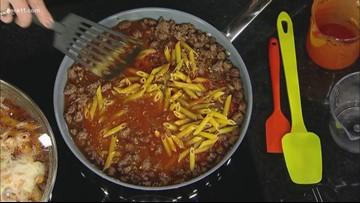 Recipe: Mama Mia Lasagna & veggie dippers
