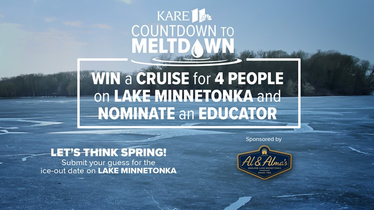 CONTEST ENDED: Countdown to Meltdown 2021 - Guess the ice-out date for Lake Minnetonka